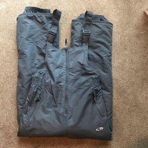Overall snow pants